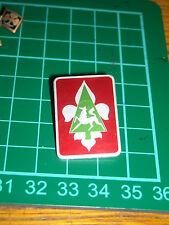 girl scout  boy scout vecchio  stemma  pin spilla distintivo