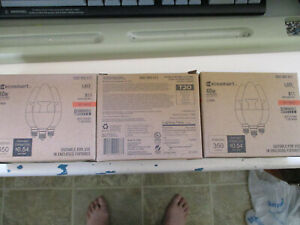3 Boxes Eco Smart 40W Soft White Dimmable Led  Candelabra B11