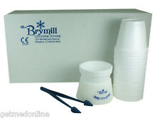 NEW ! Brymill Cryo Tweezers with Delrin Cup Holder and 10 x Foam Cups, BRY-350