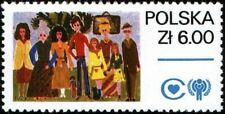 Poland - 1979 - International Year of the Child - Family - Mnh Stamp - Sc. #2317