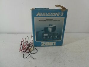 Midland 2001 CB 27/81 Precision Series Radio with Hanset in Box D12