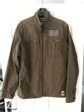 G-STAR Raw Men's Ranger Shirt Jacket Military Overshirt Size Large L Brown