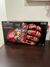 Marvel Legends Series Avengers Power Gauntlet Iron Man New Sealed