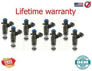 OEM  Bosch 8x Fuel Injectors for Nissan Infiniti 3.5L Altima Maxima I35 Murano F