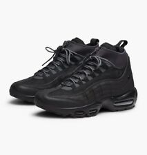 NIKE AIR MAX 95 SNEAKERBOOT, WINTER TRAINERS, UK10, BLACK/ANTHRACITE, 806809001