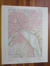 Saint Paul East Minnesota 1953 Original Vintage USGS Topo Map