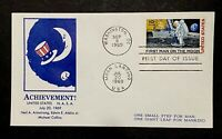USA C76 First Step Man Moon Landing Space Apollo11 Armstrong NASA Uncle Sam 1969