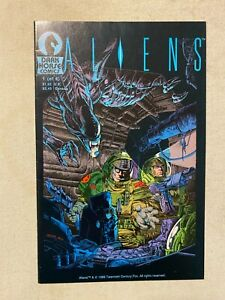 ALIENS #1 NM- 9.2 2ND PRINTING DARK HORSE COMICS