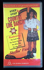 RETRO VHS * COUNTRY LINE DANCIN' * Video * Step by Step * Boot Scooting* DANCING