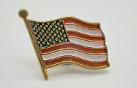 American Flag USA Vintage Lapel Pin