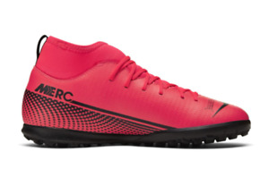 NIKE Mercurial Superfly Club Turf Mens Trainers Red Size UK 11 US 12 *REFCRS178