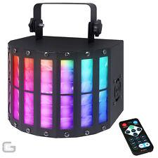 QTX Derby9 27W RGBYWAP UV LED DJ DMX Beam Derby Kinta 9 Colour Effect Light