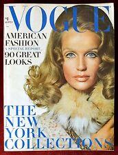 Vogue Magazine ~ September 1, 1968 ~ Veruschka Windsor Elliott