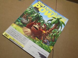 #261 261 Nintendo Power Donkey Kong Country N64 Video Game System NES