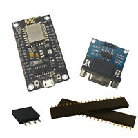 ESP8266 NodeMCU + MAX232 RS-232 Converter ESP-Link Serial Wifi Gateway Kit USA