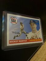 Mickey Mantle 2008 Topps Card #MHR532 New York Yankees Mick Collector League NR