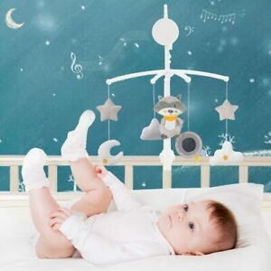 Baby Crib Rattles Music Educational Mobiles Toys Bed Bell Carousel Cots Baby