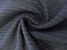 Navy with Tan Pinstripe Classic Linen Suiting - Stay Cool and Elegant in Summer