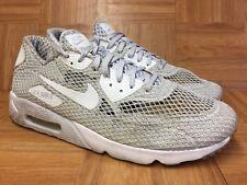 d734fe6f56 Worn🔥 Nike Air Max 90 Ultra BR PLUS QS Platinum White Shoes Sz 13 810170