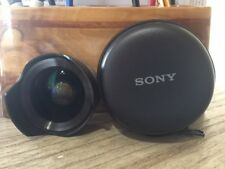 Sony Wide Angle converter  for Sony 16mm & 18mm e- mount lens