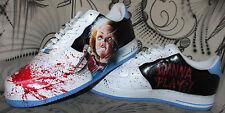 Custom Nike Air Force 1 Airbrush Shoes Sneaker Graffiti style Schuhe painted ny
