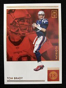 2018 Panini Encased Gold #7 Tom Brady MINT & Flawless! Patriots Buccaneers 🔥📈