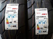 2 x 195/50/15 nankang ar1/rally tyres/race tyres/trackday tyres/race