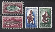 DAHOMEY (REP) - C85- C88 (MH) + C88a (MNH) -1968 - MEXICO OLYMPICS