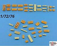 Redog 1:72 Crates and Boxes  Kit   scale Models / diorama  Accessorises / B5