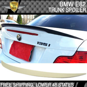 07-13 BMW 1-Series E82 Coupe Performance Rear Trunk Spoiler Wing ABS New