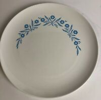 Vtg Centura By Corning Dinner Plate Blue Cornflowers 10""