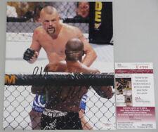 CHUCK 'THE ICEMAN' LIDDELL Hand Signed 8'x10' Photo 5 UFC + JSA COA