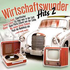 CD Wirtschaftswunder Hits Volume 2 von Diverse Interpreten  2CDs