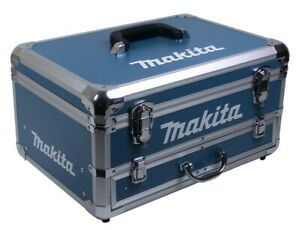 Makita Transportkoffer Alu - Koffer leer mit Schublade