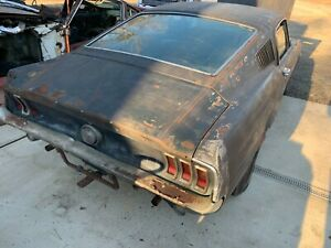 1968 Ford Mustang 1968 Ford Mustang R code 428CJ GT Fastback project