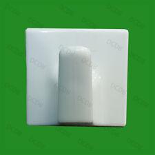 10x Plástico Blanco Autoadhesivo Ganchos Para Ropa, toalla COLGADOR