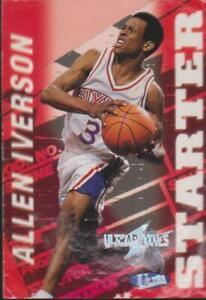 1997-98 Fleer Ultra ultrabilities #2 Allen Iverson Philadelphia 76ers