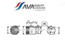 AIAK001 Compressor, Air-conditioner (STAMP AVA)