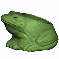 Beckett Frog Planter, Green
