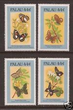 PALAU # 121 B-E MNH BUTTERFLIES Singles