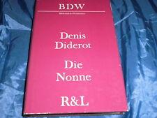 Rütten & Loening Berlin / DDR  ,1. Auflage 1989 , Denis Diderot , DIE NONNE
