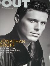 Jonathan Groff Out Magazine February 2014 CAROL CHANNING Elaine Stritch Gay