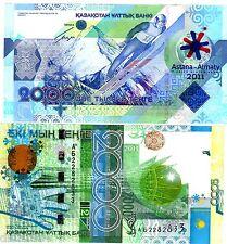 KAZAKHSTAN Billet 2000 TENGE 2011 PNL NOUVEAU COMMEMORATIVE UNC NEUF