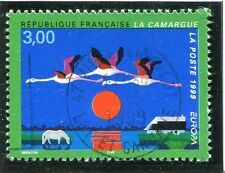 TIMBRE FRANCE OBLITERE N° 3240 FLAMANTS ROSES /