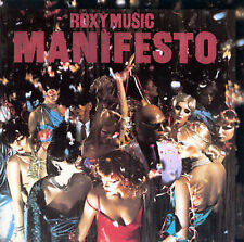 Manifesto by Roxy Music cassette tape