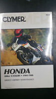New Clymer Honda Service Manual 500cc V-Fours 1984-1986 M329
