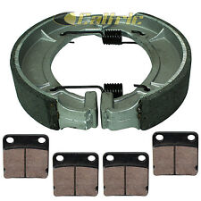 YAMAHA BIG BEAR 400 YFM400 BUCKMASTER 4WD 2000 2001 FRONT REAR BRAKE PADS SHOES