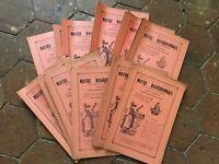 Nostro Bourbonnais Lotto 30 Notiziario Trimestrale Delle Studio Locale 1951 Con