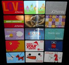 15 Collectible Gift Card JC Penny Store Dept All Different Lot No Value <2010