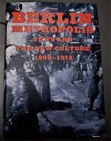 art book BERLIN METROPOLIS: Jews and the New Culture, 1890-1918, Emily D. Bilski